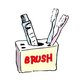 Newlywed toothbrush