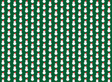 Snowman background material (green)