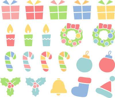 Christmas accessories _ color
