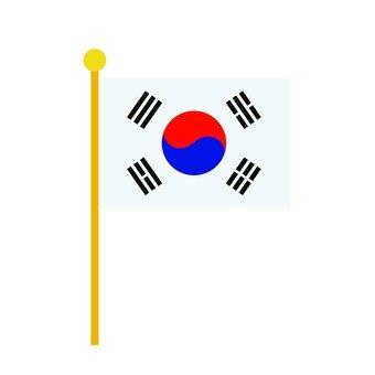 Korean flag 2