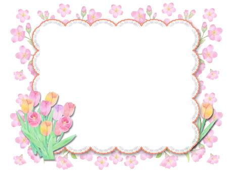 봄의 꽃들 ★ 0393-F