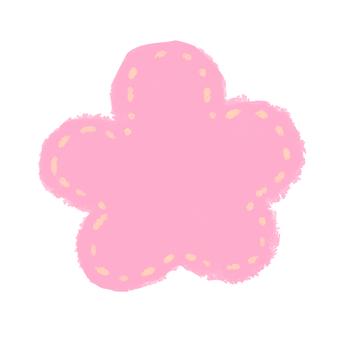 Flower Pink Mesh