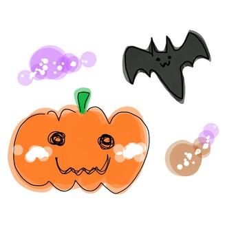 南瓜和蝙蝠
