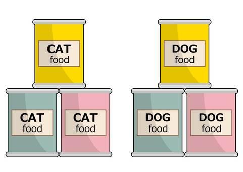 고양이 개밥