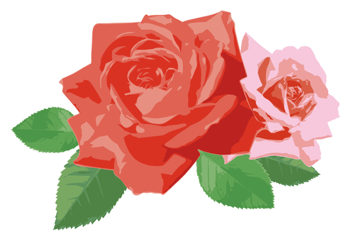 Realistic roses