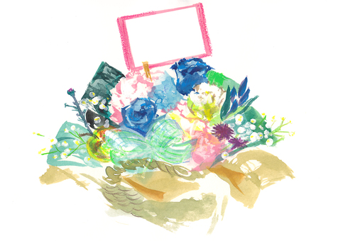 Flower arrangement blessing