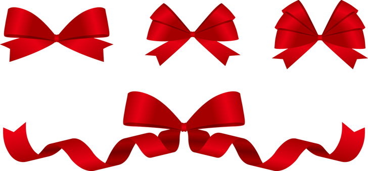 Ribbon knot red