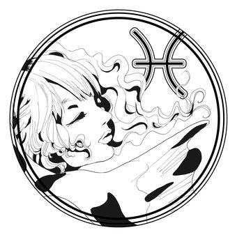 12星座シンボル【魚座】