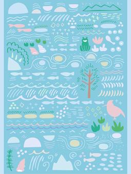 Clear stream wallpaper 02