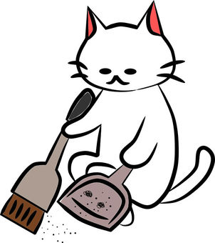 Nyanko broom and dust