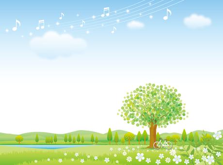 緑の季節の風景その2