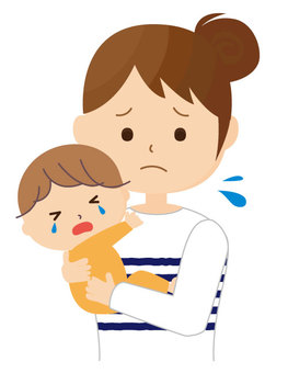 Trouble of childcare night crying