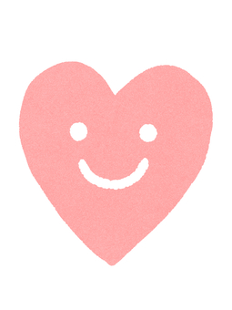 Smile Heart Pink