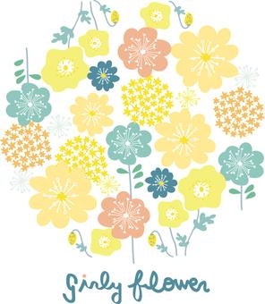 가리 꽃 서클
