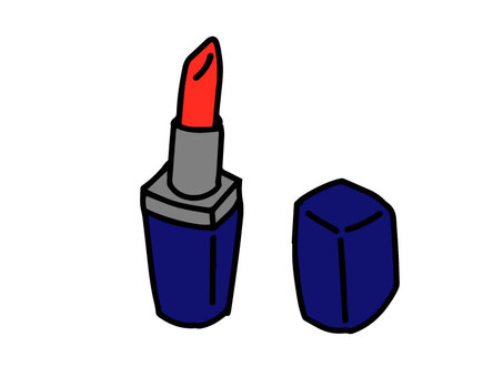 Postcard lipstick (with color)