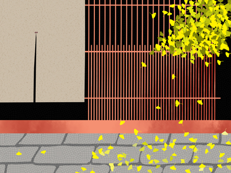 Fall of Kyoto (Ginkgo) 2