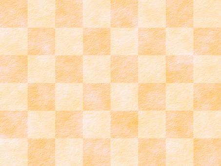 Japanese paper orange
