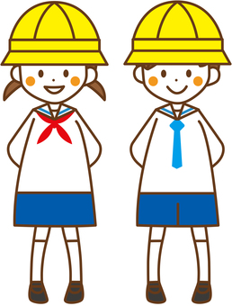 Kindergarten 児 Male Female _No.01