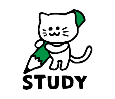 Studying cat (simple animal)