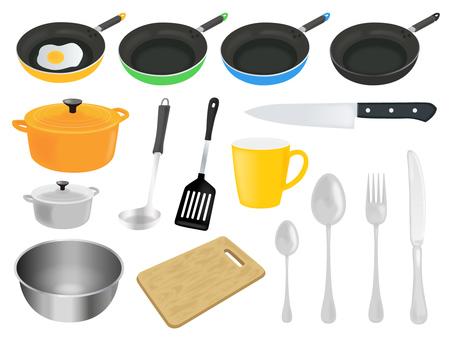 Kitchen material set