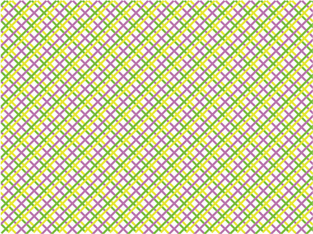 Background pink yellow green knit