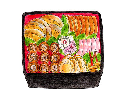 Osechi菜(兩個重)
