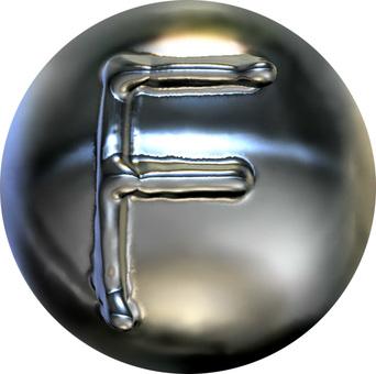 Metal sphere-F