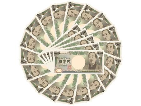 Money 10,000 yen note 3
