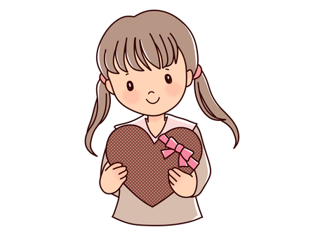 Girls and hearts