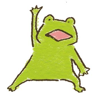 這是青蛙!