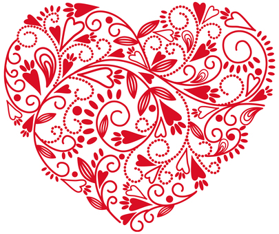 Mother's day Heart pattern
