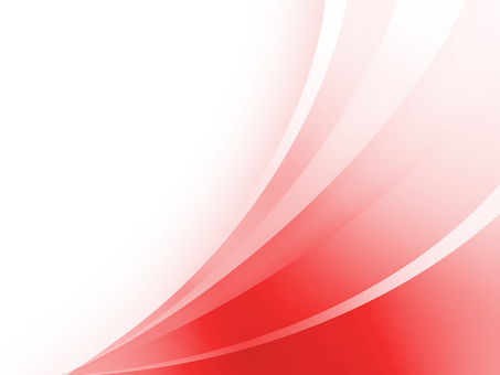Red and white curve background