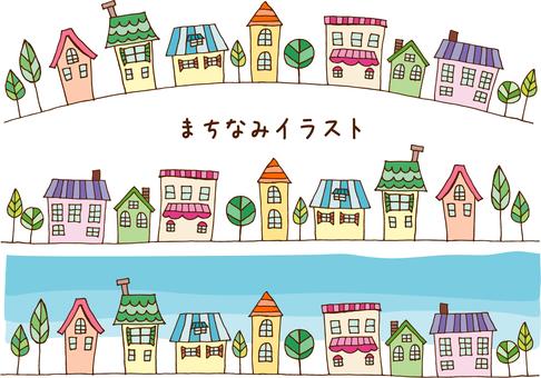 Machi-nami _ color