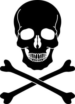 Skull _ 02 _ black