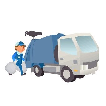 쓰레기 트럭 1