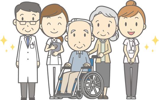 Nhóm thành viên bệnh viện - chăm sóc điều dưỡng