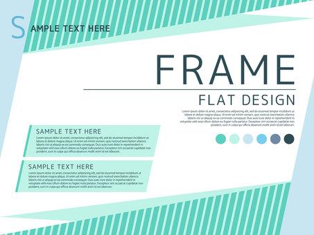 Refreshing simple frame <01>