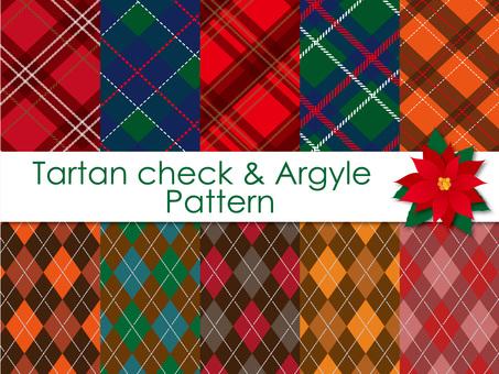 Tartan check and Argyle