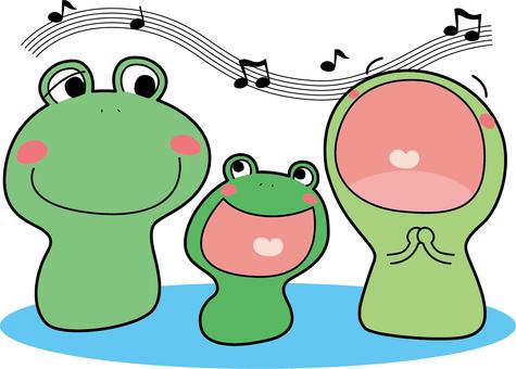 Animal frog (3 animals · music)