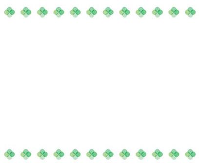 Clover frame 3