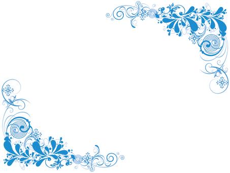 Frame light blue