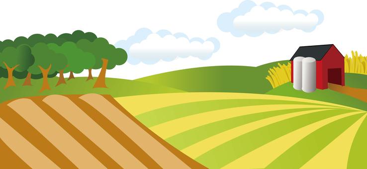 Farm countryside