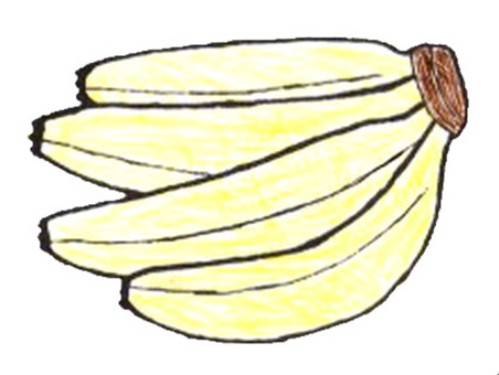 Bunch banana