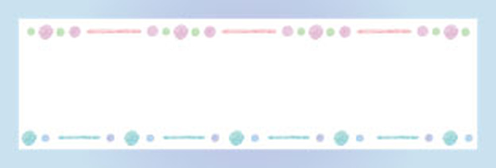 Watercolor frame set