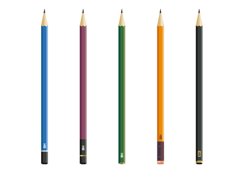 연필 여러가지