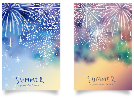 Fireworks frame set ver02
