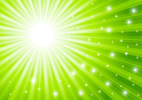 녹색의 빛