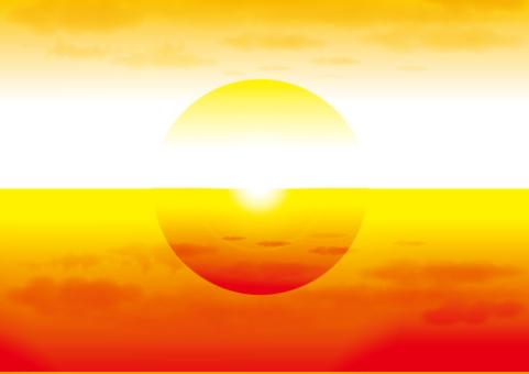 日落_太陽_海洋