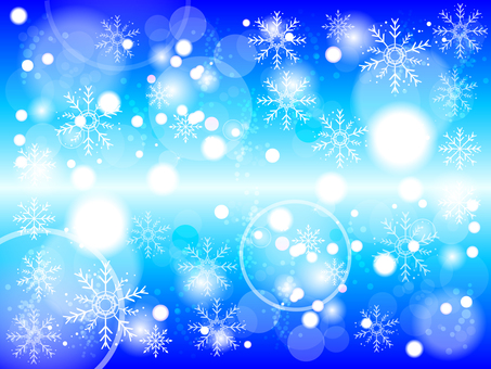 Winter snow crystal background 161031