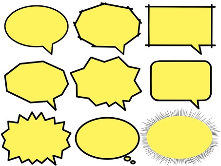 Various balloon (yellow)
